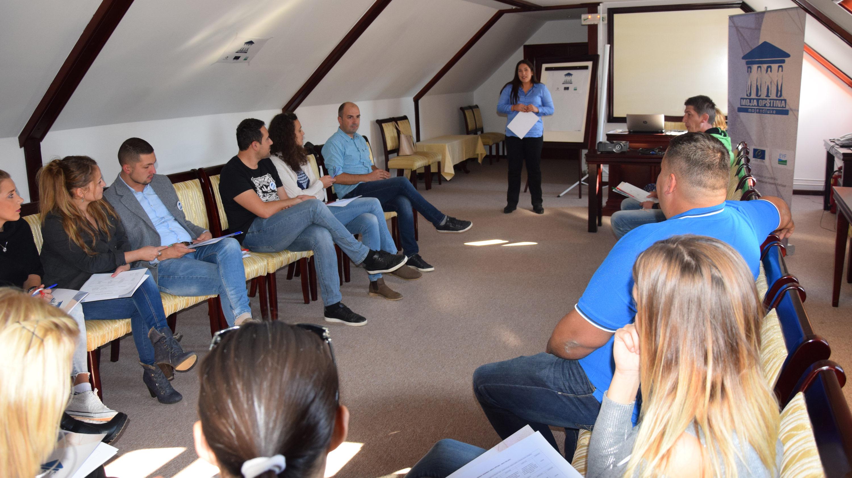 """Realizovan inicijalni trening u sklopu projekta """"Moja opština, moje odluke"""""""