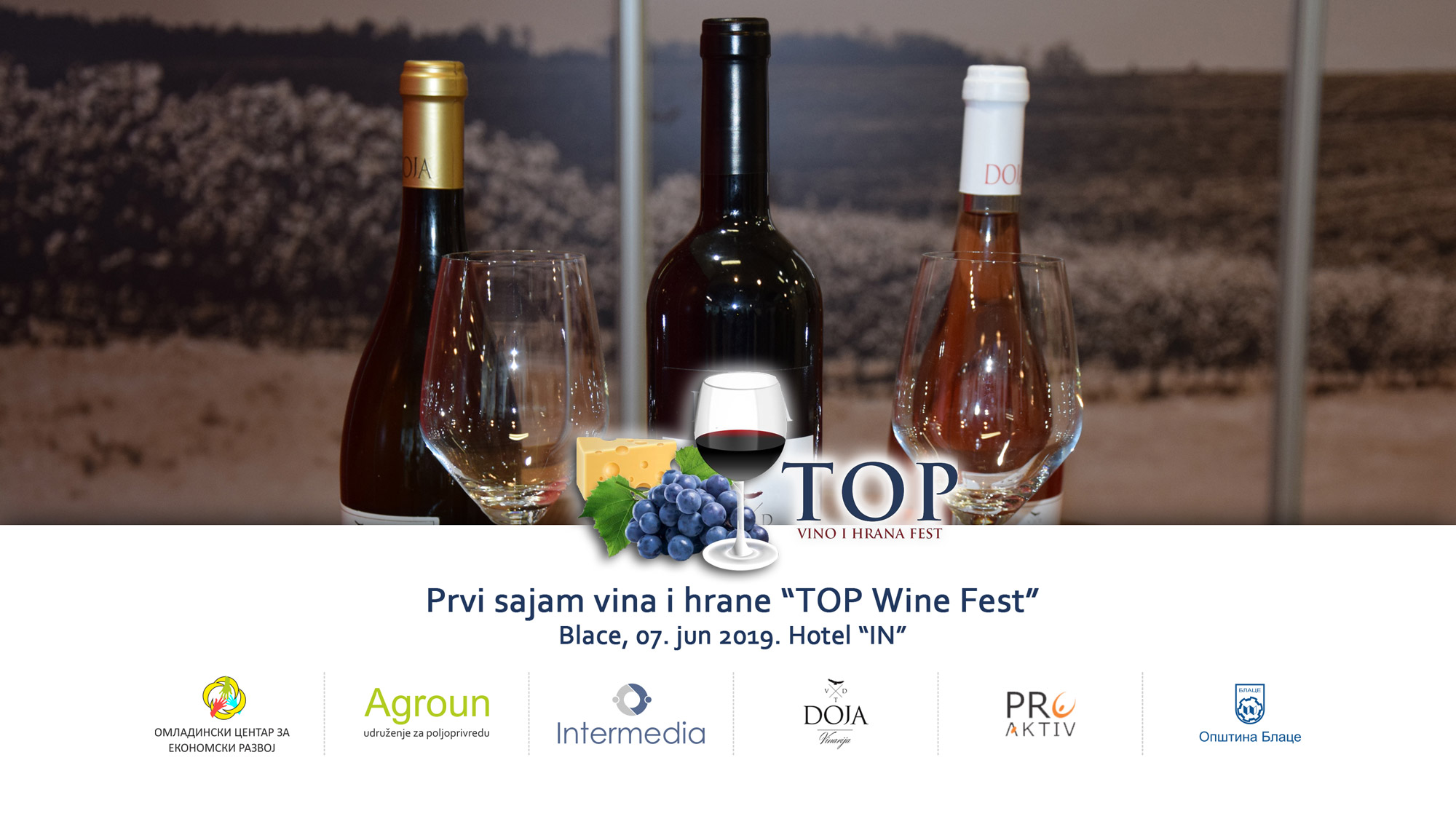 "Festival vina i hrane ""Top Wine Fest"" Blace"