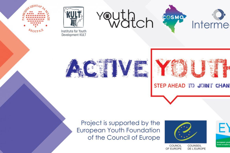 Poziv za učesnike/ce: Aktivni mladi – korak ka zajedničkim promenama